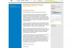 Electronic Equipment Manufacturer Blog Design