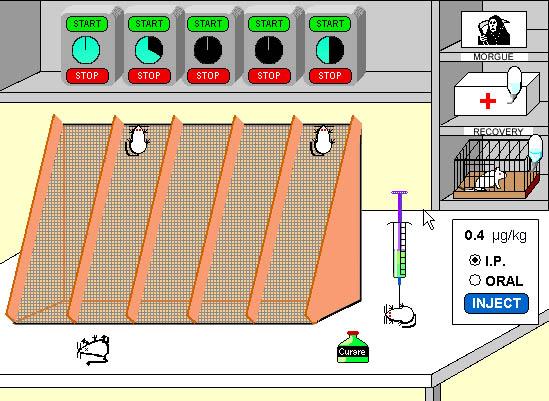 Pharmacology Lab Simulation