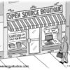 Open Source Boutique Cartoon